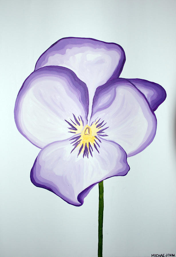 Flower Painting - Flower by Michael Ringwalt