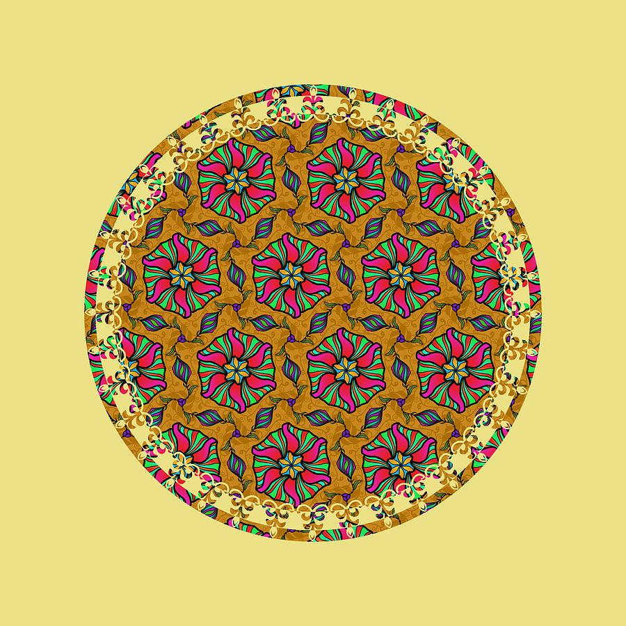 Flower Pinwheels by Becky Herrera