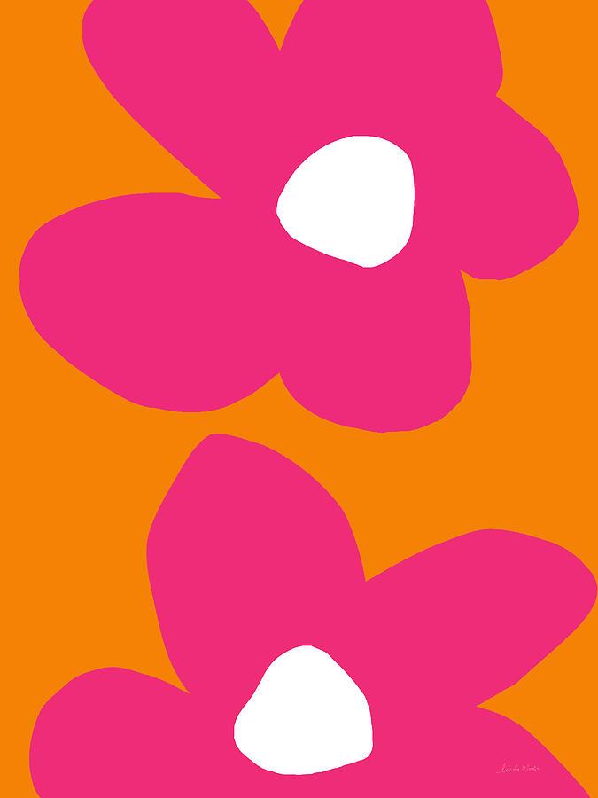 Flower Digital Art - Flower Power 2- Art by Linda Woods by Linda Woods