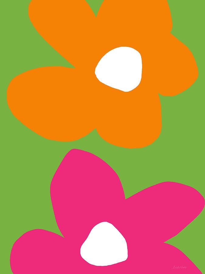 Flower Digital Art - Flower Power 5- Art By Linda Woods by Linda Woods