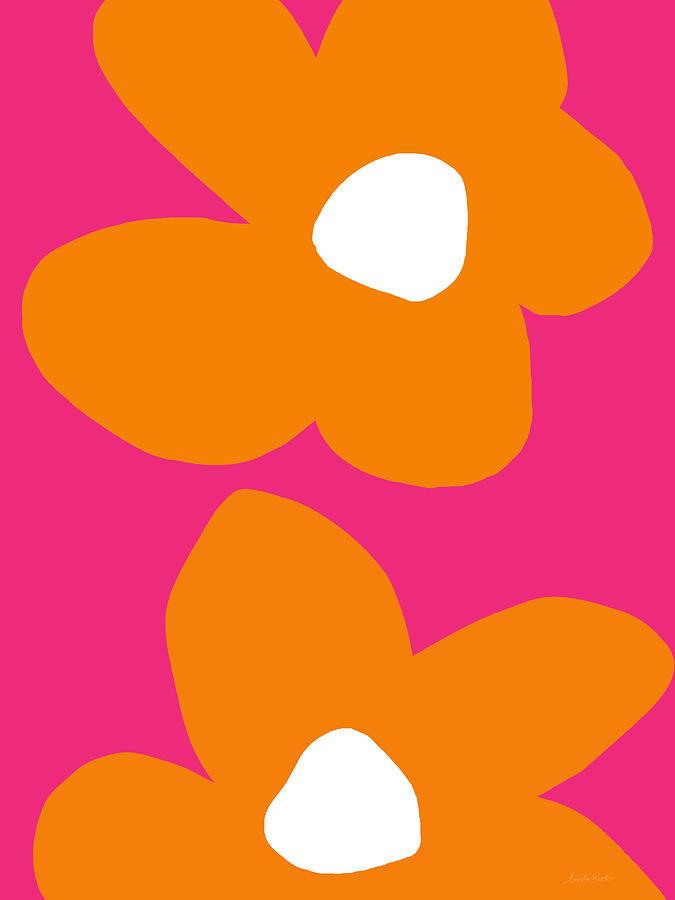 Flower Digital Art - Flower Power 6- Art by Linda Woods by Linda Woods