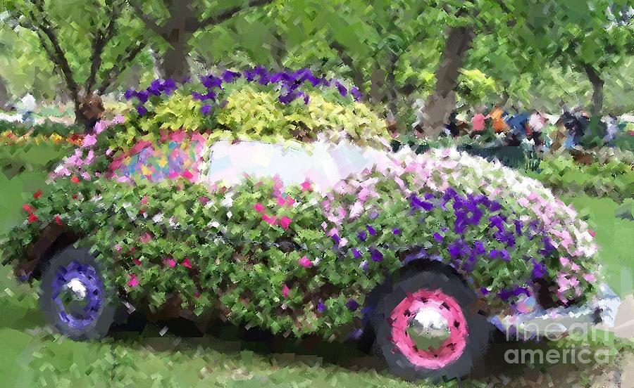 Cars Photograph - Flower Power by Debbi Granruth