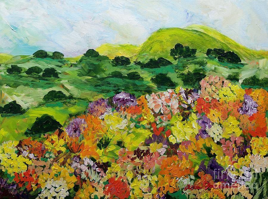 Flower Ridge Painting