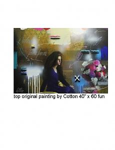 Flower Room Painting by Cotton