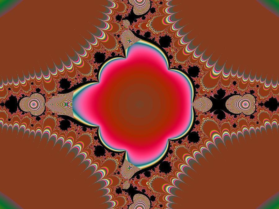 Digital Digital Art - Flower by Thomas Smith
