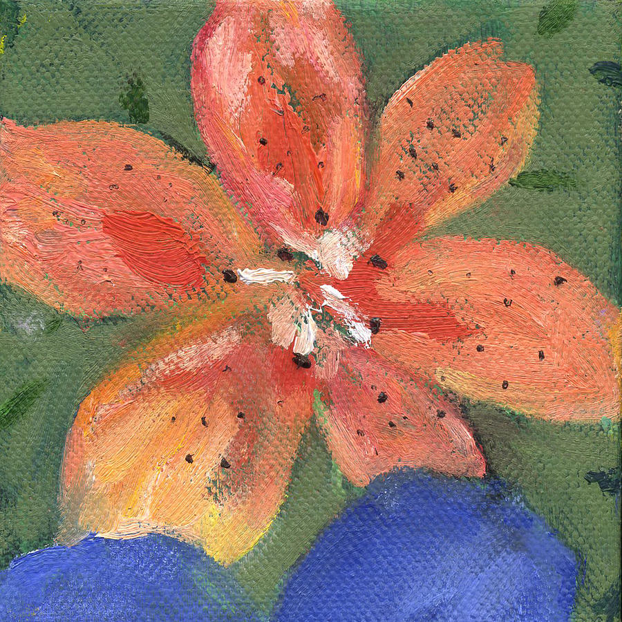 Flower Tigerlily by Kathleen Barnes