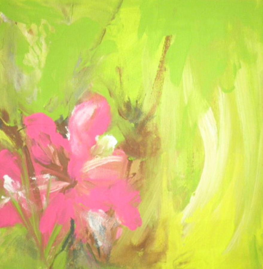 Flower Painting by Vivien Ferrari