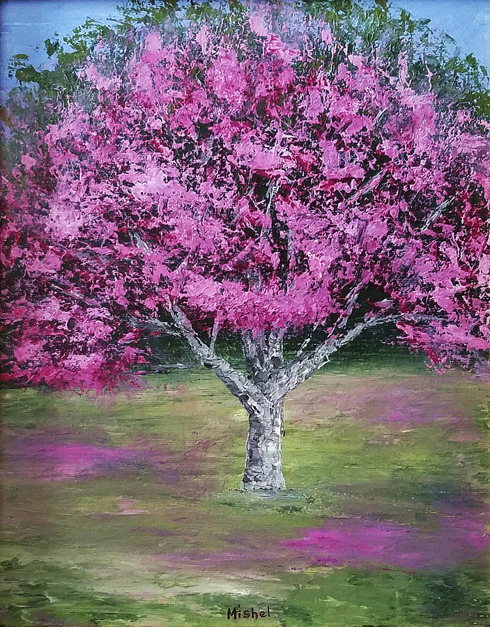 Flowering Tree by Mishel Vanderten