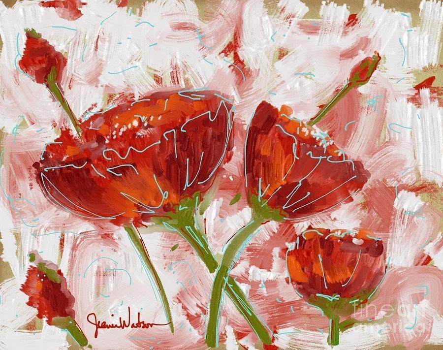 Flowers #1 by Jeanie Watson