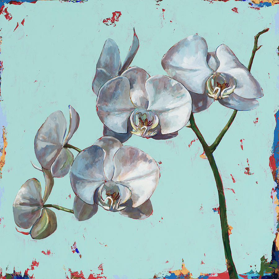 Flower Painting - Flowers #10 by David Palmer