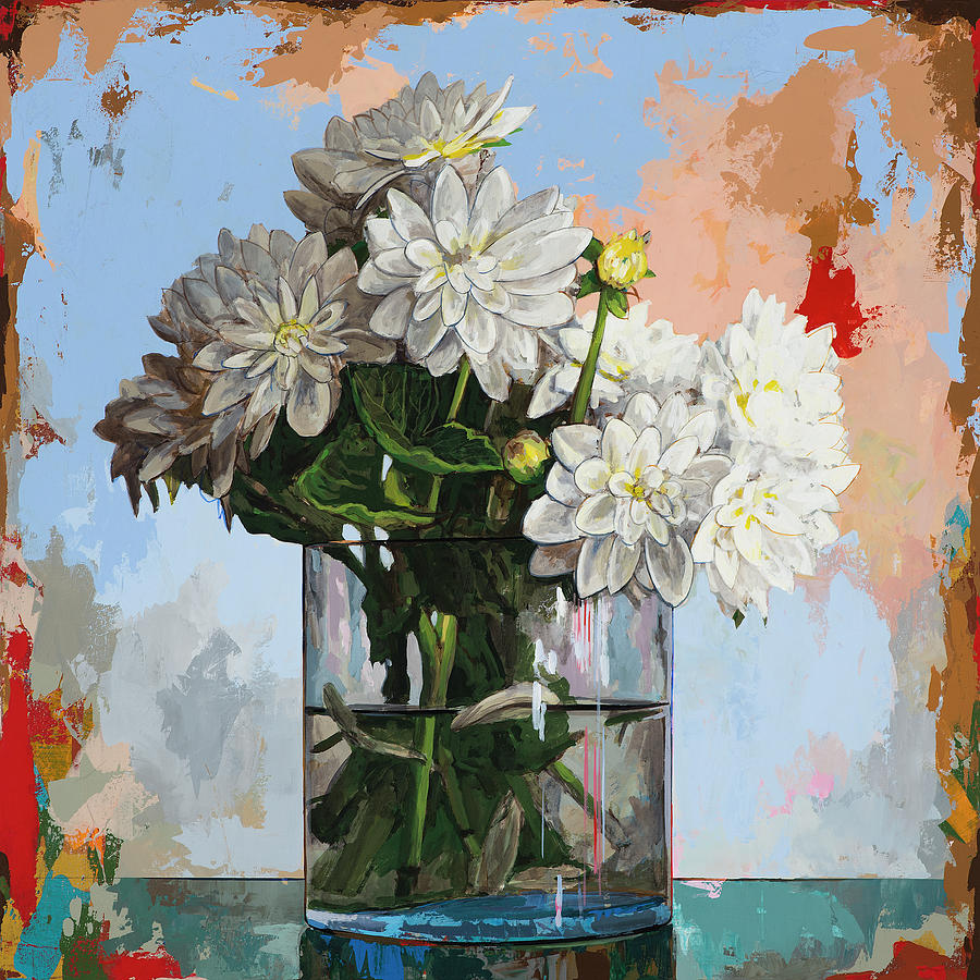 Flowers Painting - Flowers #11 by David Palmer