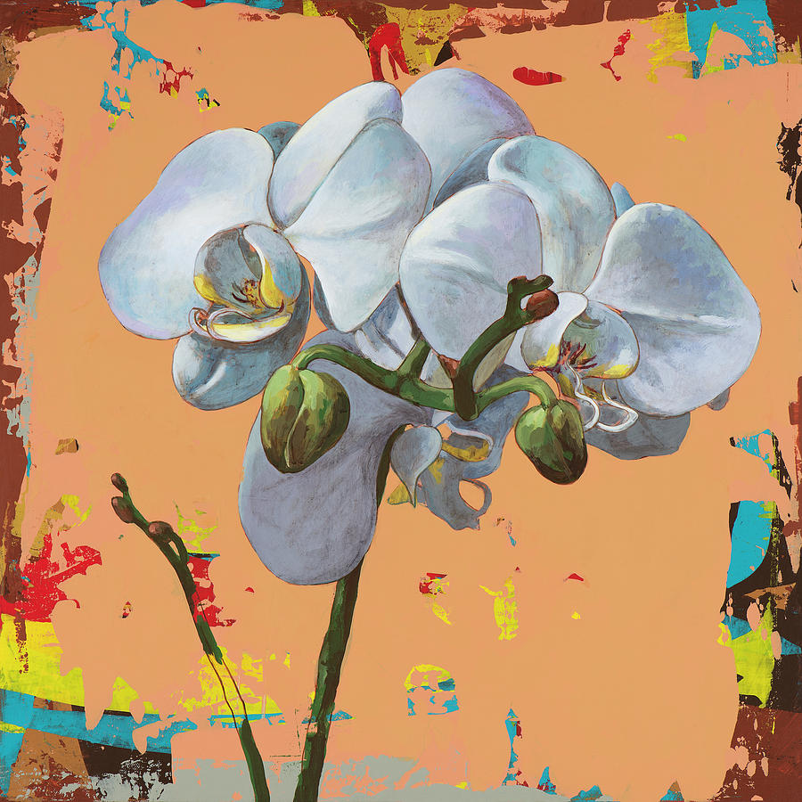 Flower Painting - Flowers #12 by David Palmer
