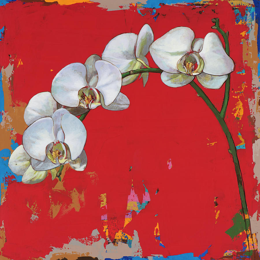 Flower Painting - Flowers #14 by David Palmer