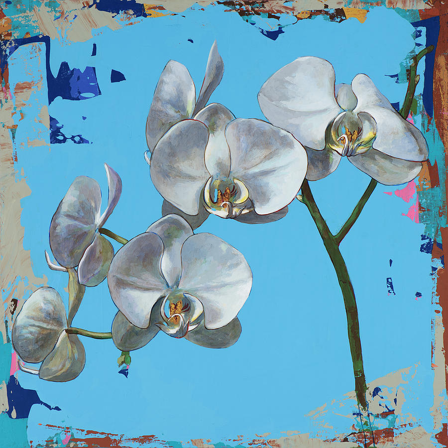 Flower Painting - Flowers #15 by David Palmer