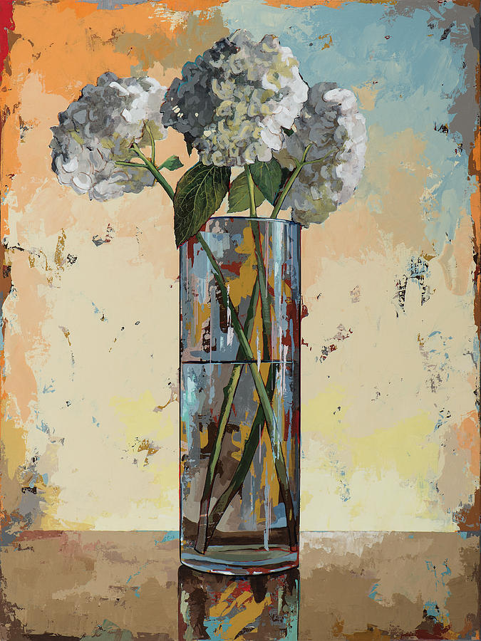 Flowers Painting - Flowers #16 by David Palmer