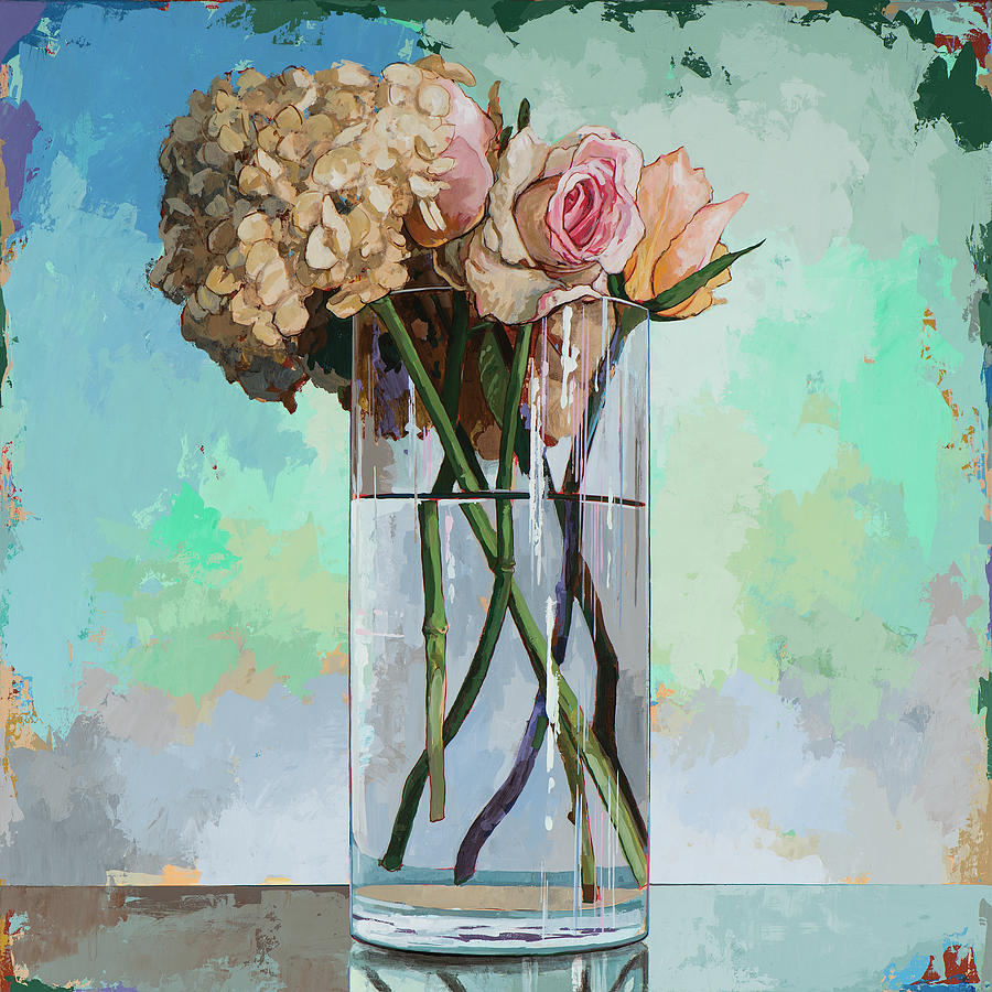 Flower Painting - Flowers #18 by David Palmer