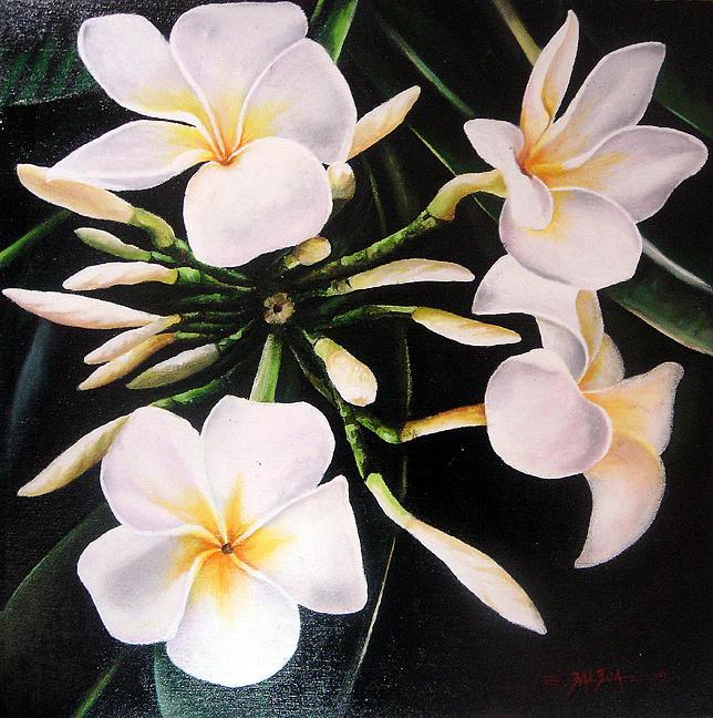 Flowers Painting - Flowers 2 by Genesis