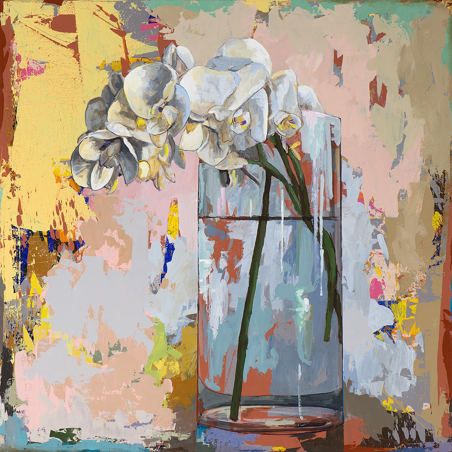 Flowers Painting - Flowers #3 by David Palmer