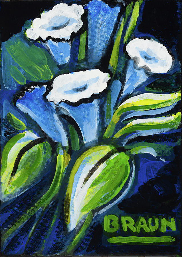 Flowers Painting - Flowers by Beverly H Braun