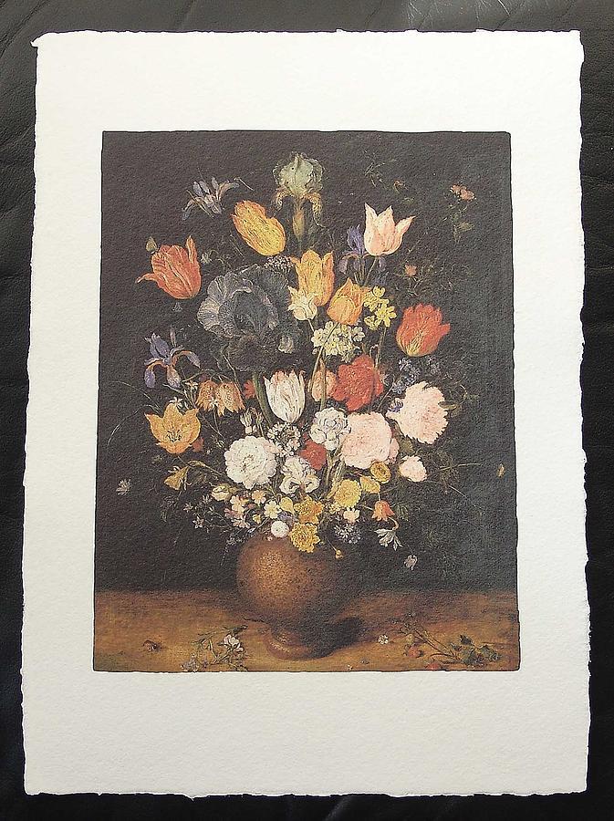 Brueghel Painting - Flowers by Brueghel Jan