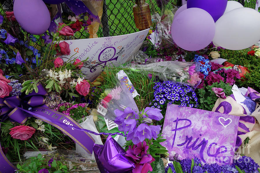Flowers For Prince Photograph
