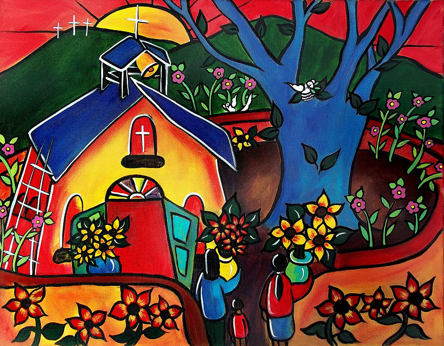 Flowers for the Church #2 by Jan Oliver-Schultz
