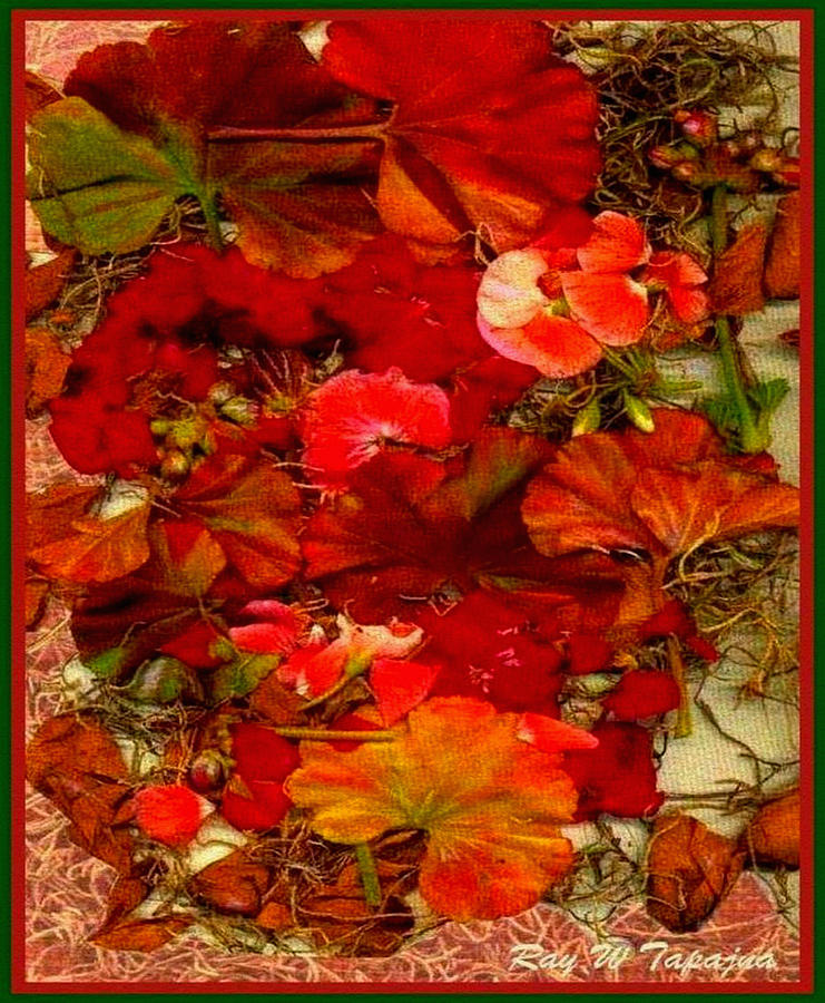 Flowers Mixed Media - Flowers for You by Ray Tapajna