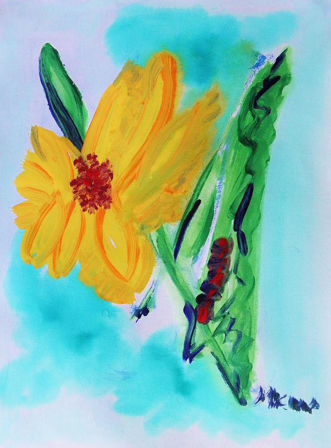 Flower Painting - Flowers From Eden 1 by Mary Carol Williams