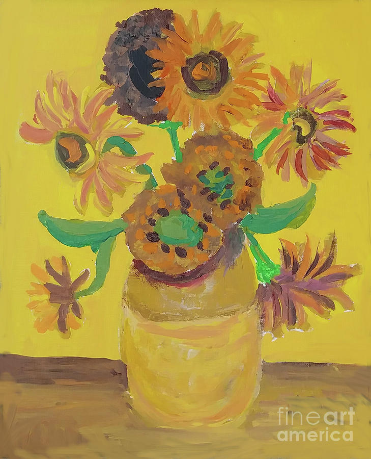 Flowers from the Garden by Jessica Novoa