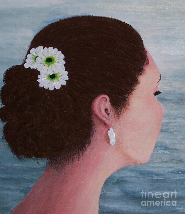 Flowers in Her Hair by Judy Kirouac