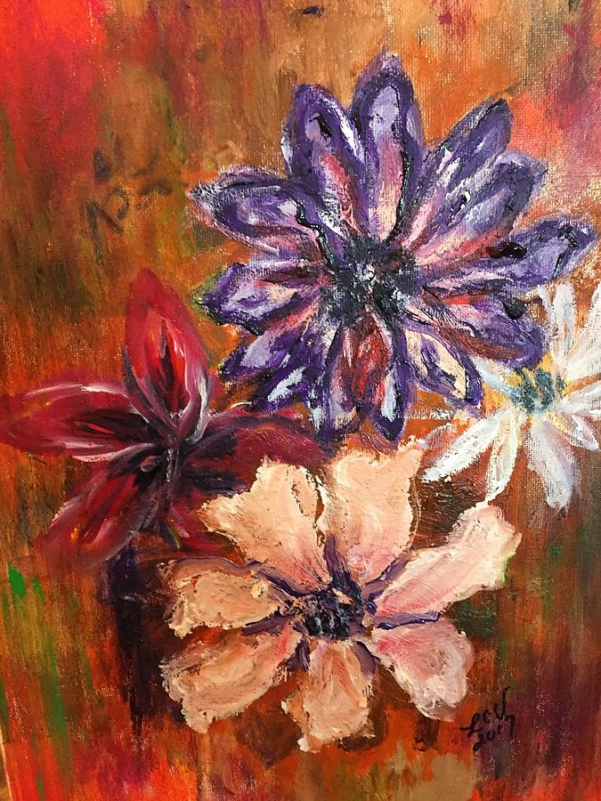 Flowers in the Spring by Lucille Valentino