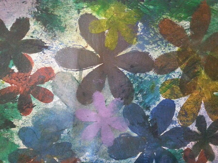 Flowers Mixed Media by Jan Pellizzer