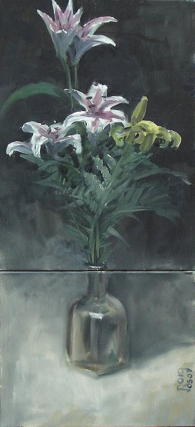 Interior Painting - Flowers by Josep Roig