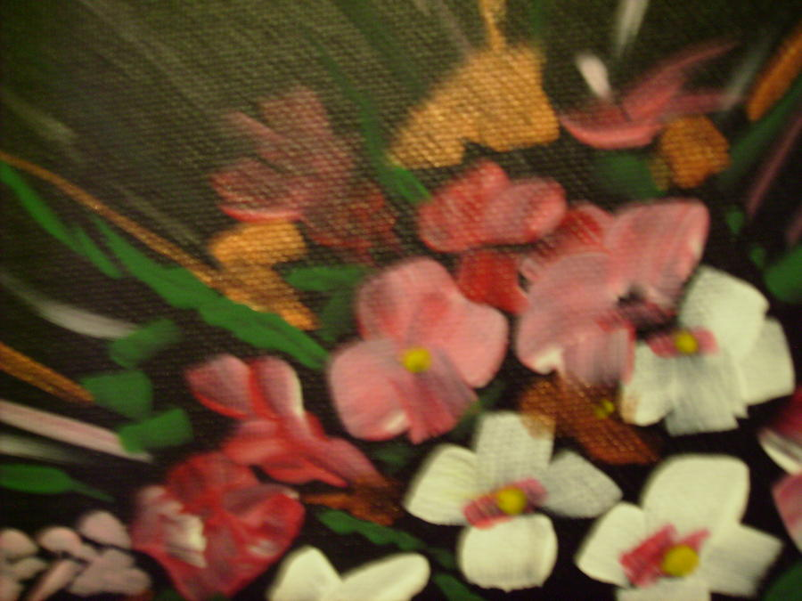 Floral Painting - Flowers by Karen Salley-Rice