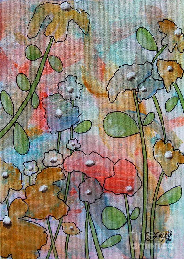 Flowers Painting - Flowers by Karla Gerard