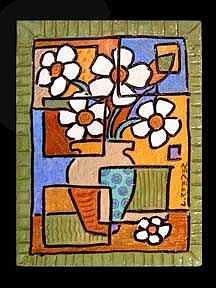 Flowers Painting - Flowers by Lynn  Reeder