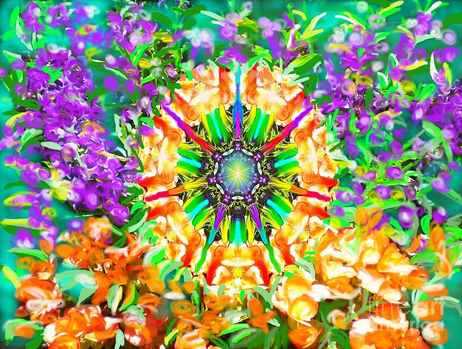 Flowers Mandala by Hidden Mountain