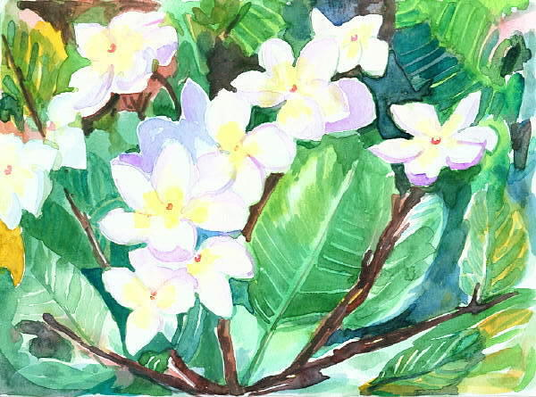 Flower Painting - Flowers by Mousumi Mani