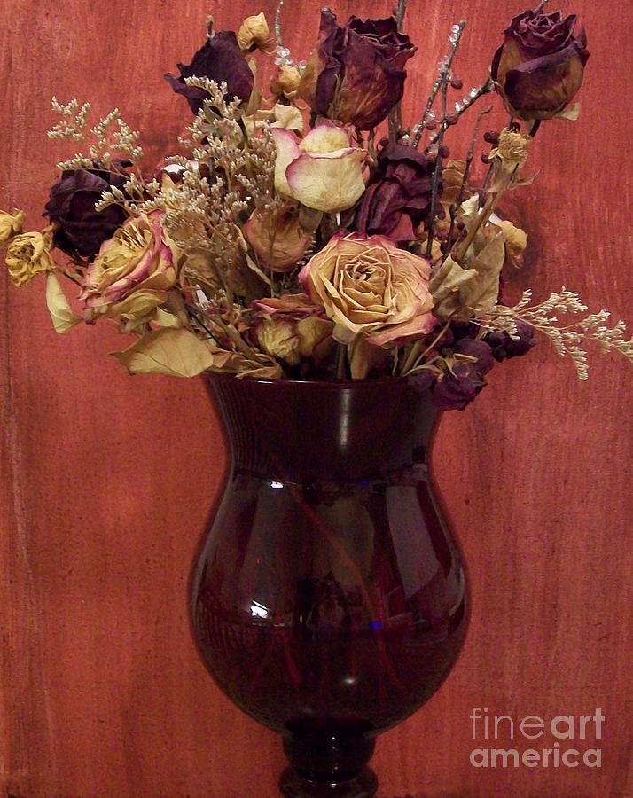 Burgundy Photograph - Flowers Of Love by Marsha Heiken