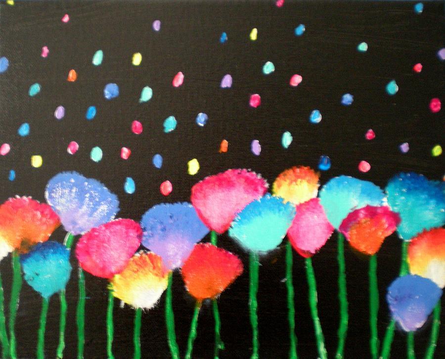 Flowers Painting - Flowers Of Urania by Yvonne Flynn