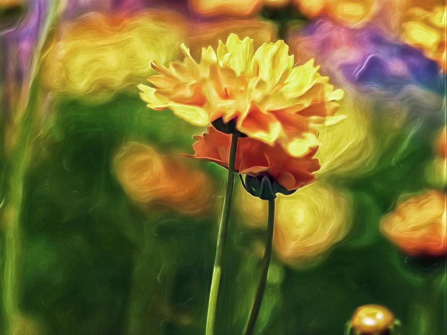 Flowers on a Date Digital Art by Doctor MEHTA