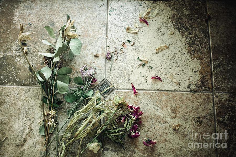 Flowers On The Floor Photograph