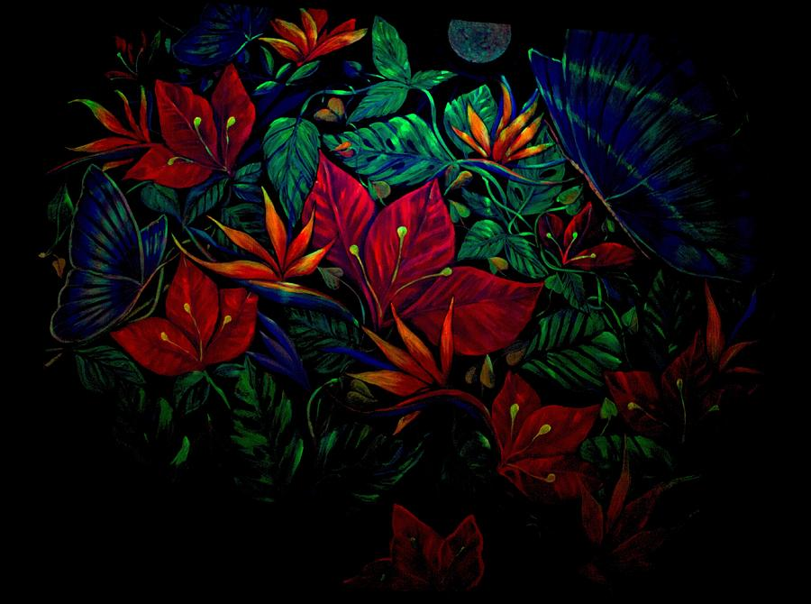 Flowers Painting by Sue Beck-Ryan