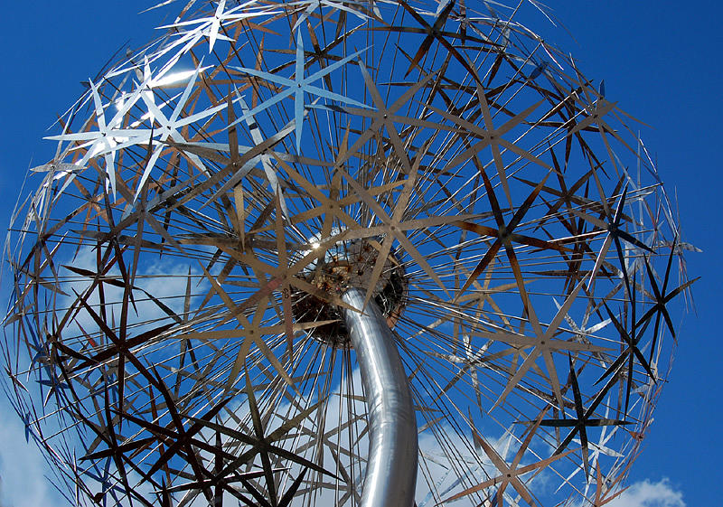 FLowerworks detail Sculpture by David Tonnesen