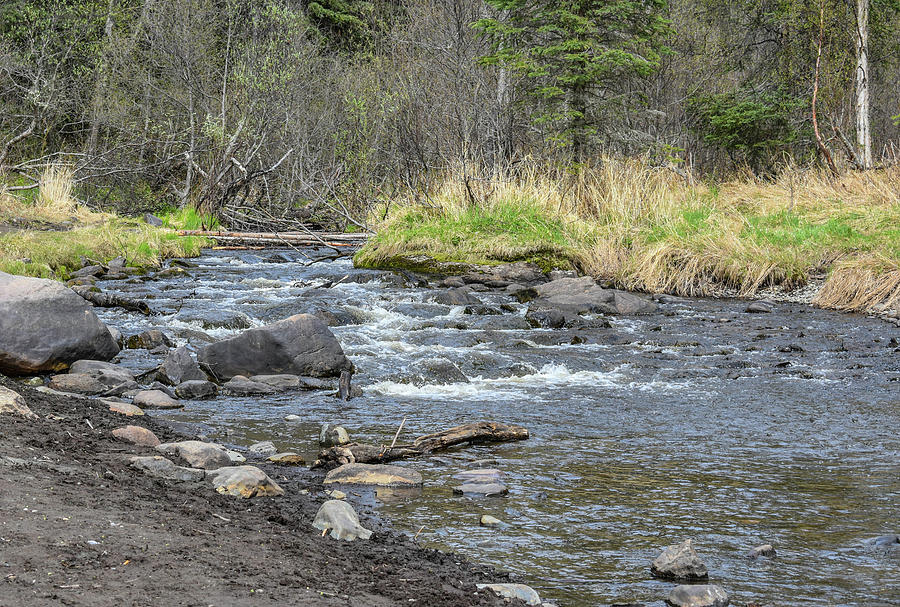 Kenai River Photograph - Flowing River by Crewdson Photography