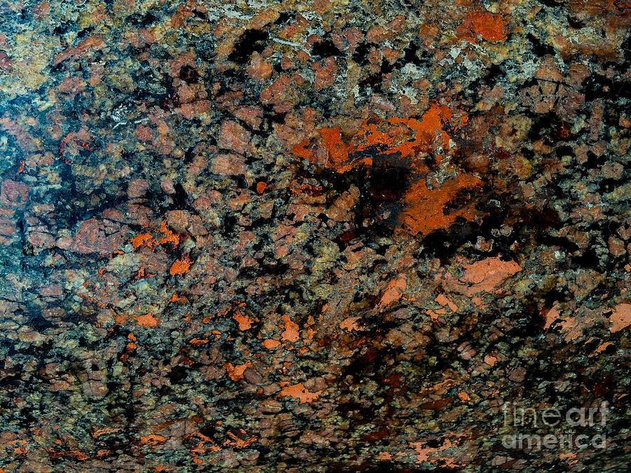 Aqua Marcia Photograph - Flowing Rock by Joseph Yarbrough
