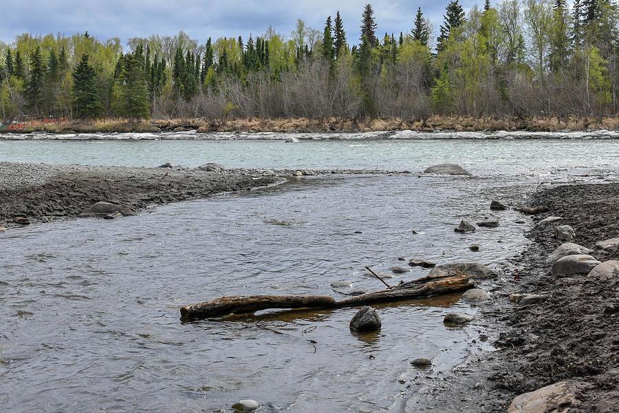 Kenai River Photograph - Flowing to the Kenai by Crewdson Photography