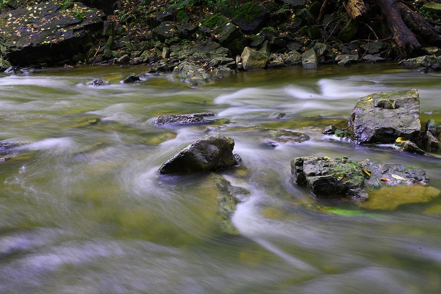 Water Photograph - Flowing Water 2 by Mark Platt