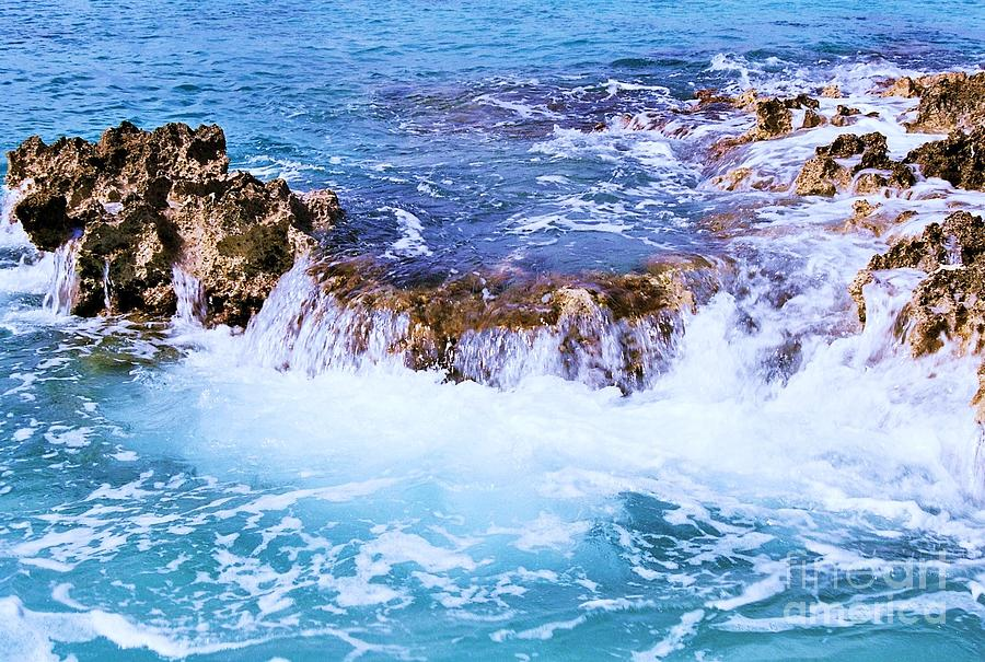 Flowing Water In The Cayman Islands # 4 Photograph by Marcus Dagan