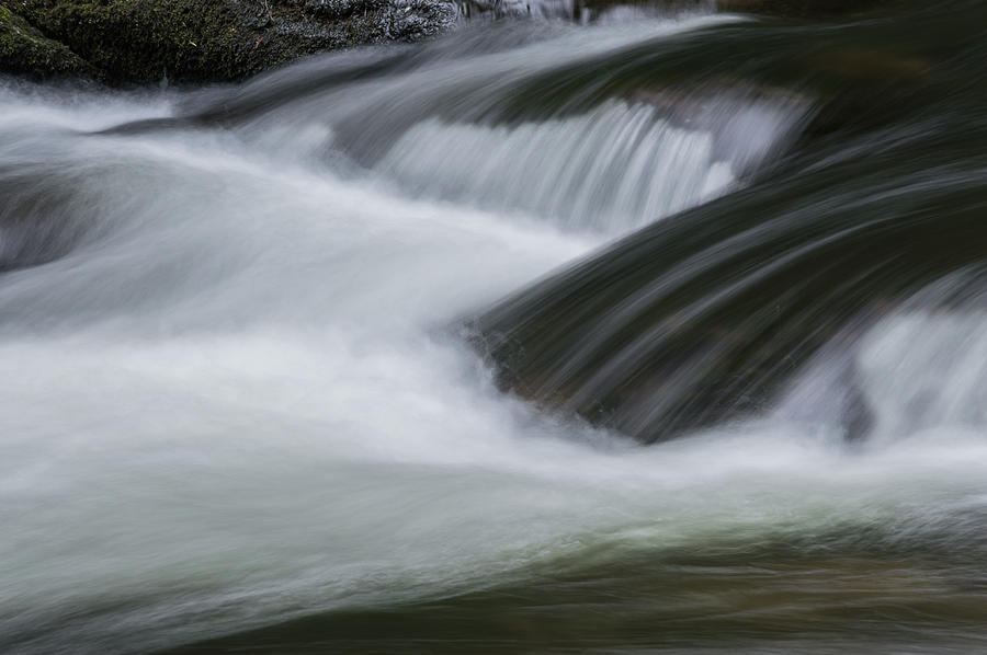 Water Photograph - Flowing Water by William Shackelford